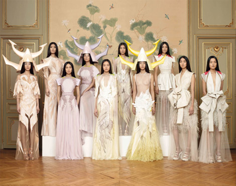 Givenchy Haute Couture Spring Summer 2011 collection