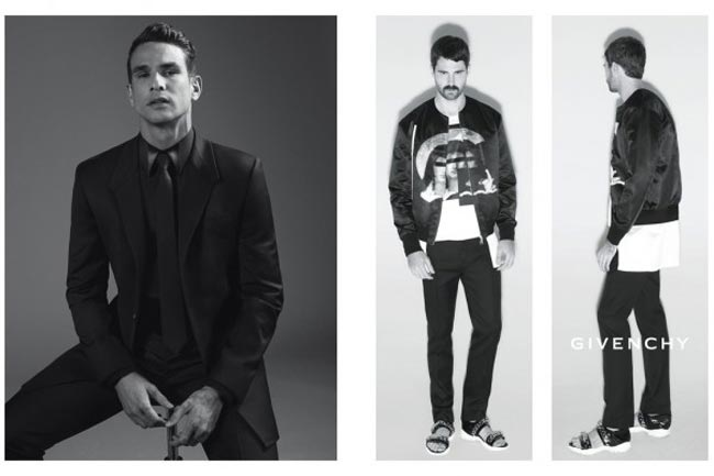 Givenchy Spring 2013 friends ad campaign