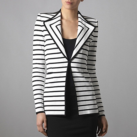 Givenchy Striped Blazer