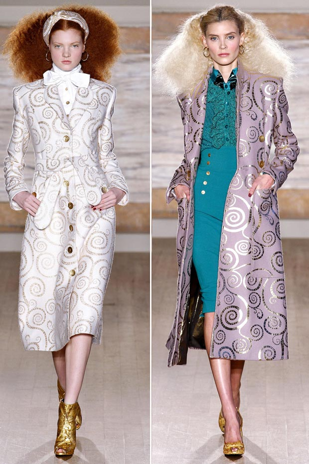 glamorous coats for Fall LWrenn Scott Fall 2013 collection