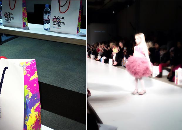 Global Kids Fashion Week event