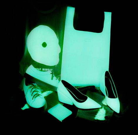 Glow in the Dark Cheap Monday collection