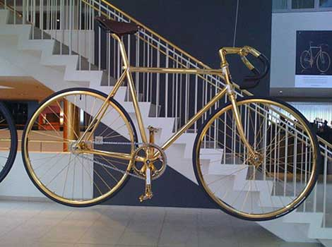 Gold bike Crystal edition
