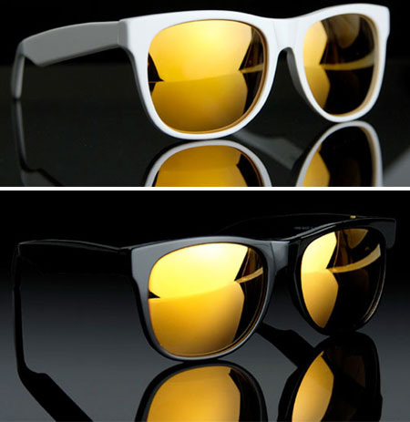 The Golden Eye – 24K Gold Lenses Wayfarers