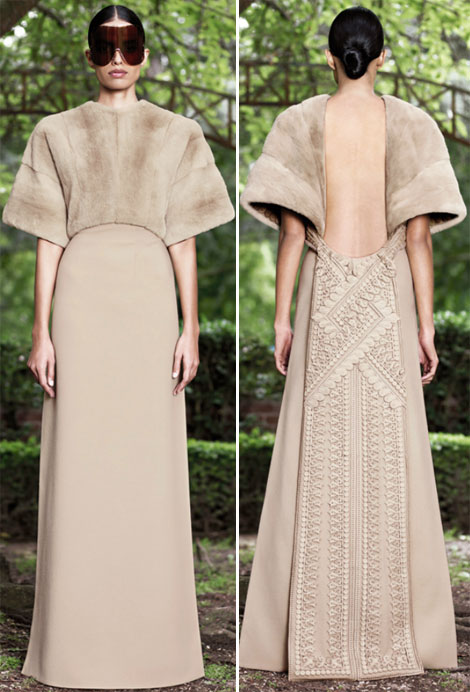 gorgeous Givenchy Fall 2012 Haute Couture