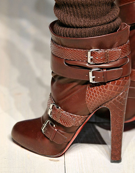 Fall Boots You Need: Victoria Beckham Christian Louboutin Buckled Booties