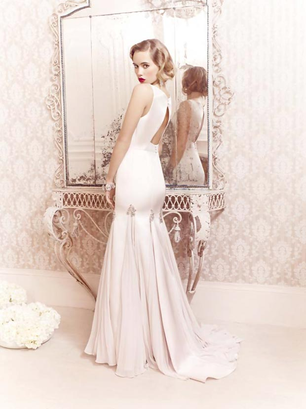 Gorgeous Ballgowns Collection modeled by Suki Waterhouse