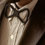 gorgeous beaded bow ties by Innocent Creationz