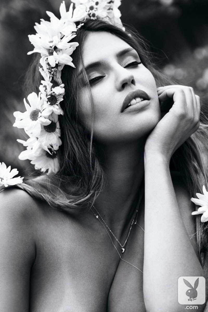 Gorgeous Bianca Balti black and white pictorial men magazine