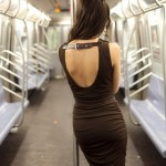 Gorgeous Black Dress Lindsey Calla Subway