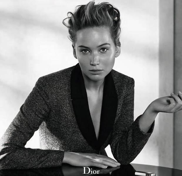 gorgeous Jennifer Lawrence Dior magazine No 3