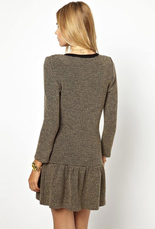 gorgeous knit dress
