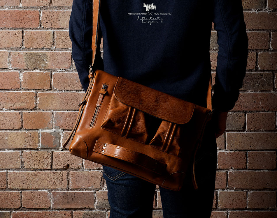 gorgeous messenger bag Hard Graft
