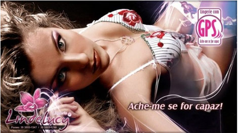 GPS Lingerie Lindelucy ad
