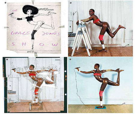 Grace Jones By Jean Paul Goude Picture Making Of