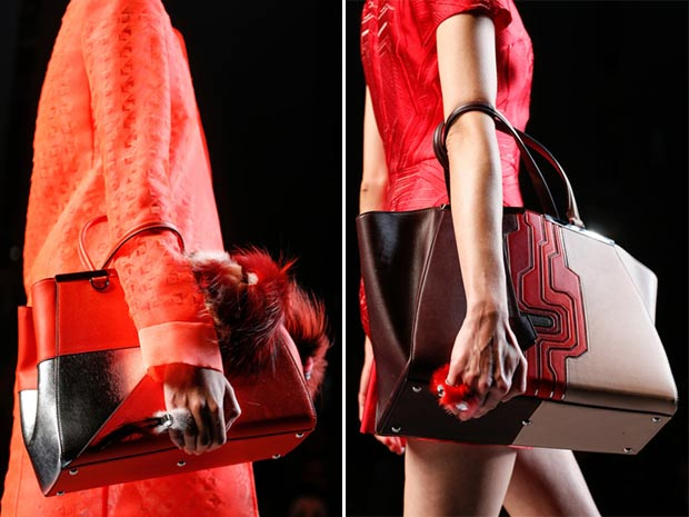 gradient bags Fendi Spring Summer 2014