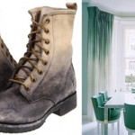 gradient boots ombre curtains