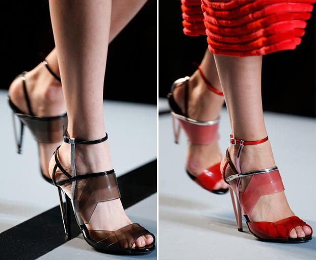 gradient sandals Fendi Spring Summer 2014