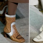 graphic retro leather booties Fall 2014 Marc Jacobs