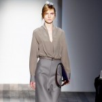 gray fall look Victoria Beckham Fall 2013 collection