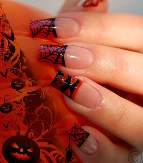 Creepy Halloween Nails - StyleFrizz