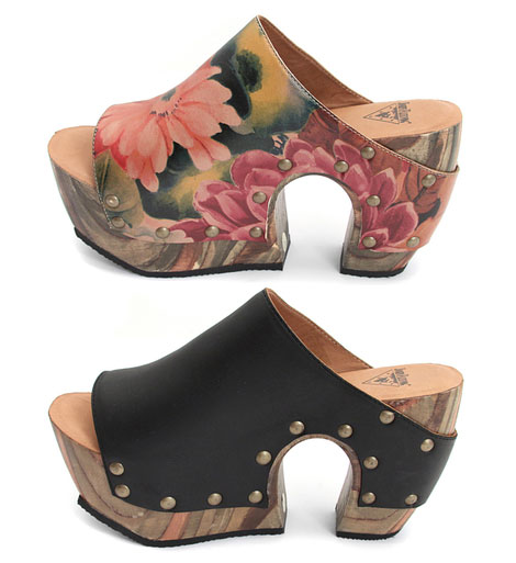 Favorite Summer Sandals: John Fluevog Halfmoon Clogs