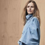 great denim cape Vogue Australia January 2013