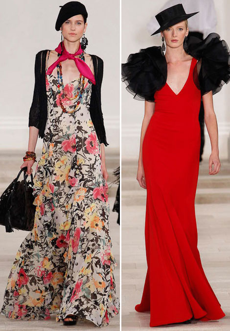 Spanish Lady Ralph Lauren Spring Summer 2013