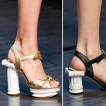 Greek Column heel sandals Dolce Gabbana SS14