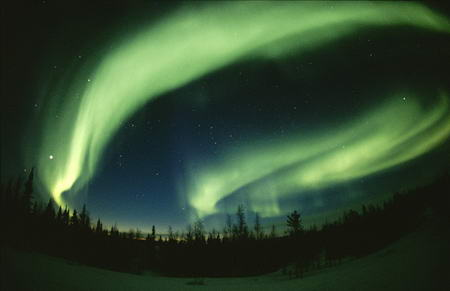 Green Aurorae Borealis Canada Paul Nickel