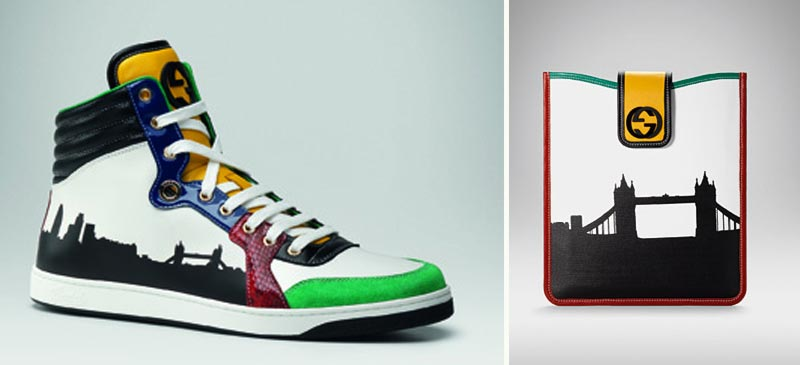 Gucci City London sneakers leather accessories