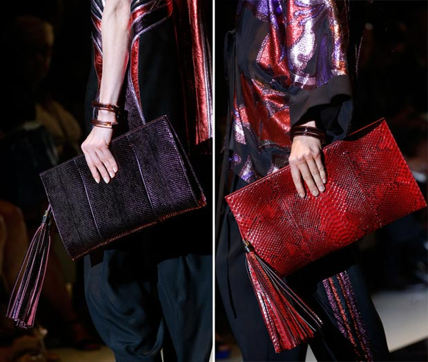 Gucci oversized clutched Spring Summer 2014