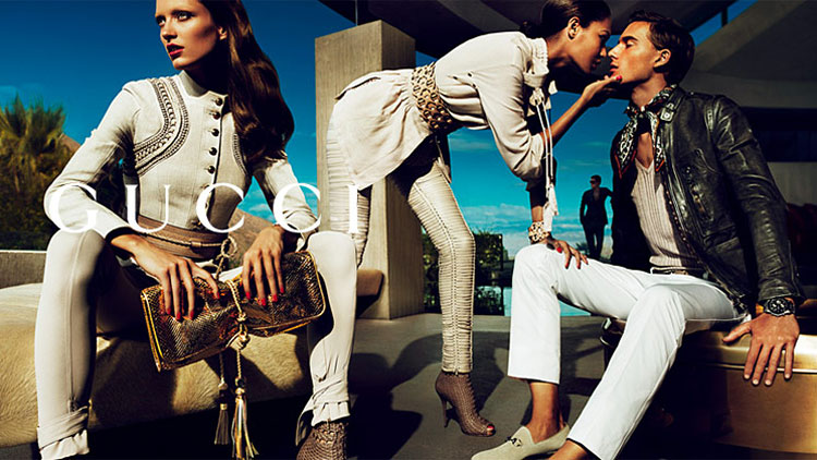 Gucci Spring Summer 2011 ad campaign 1