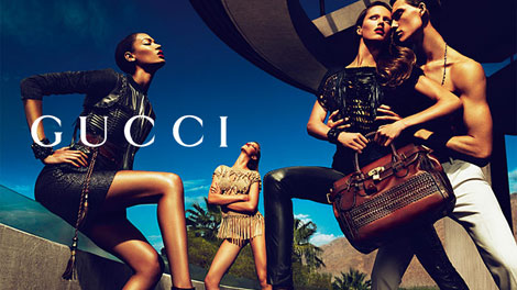 Gucci Spring Summer 2011 ad campaign
