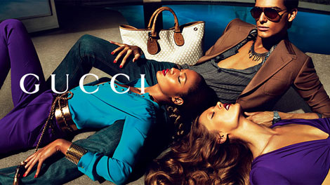 Gucci Spring Summer 2011 ads