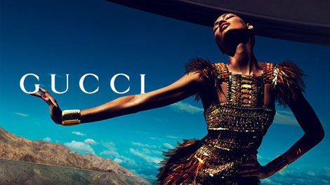 Joan, Karmen, Hailey Gucci Spring Summer 2011 Ad Campaign
