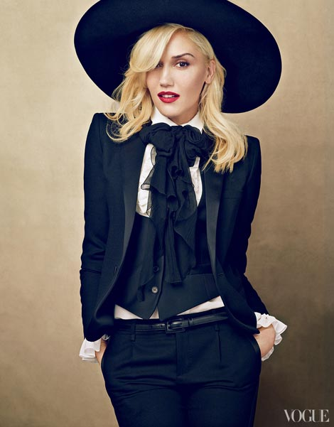 Gwen Stefani Vogue US January 2013