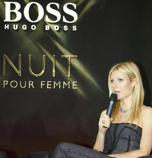Gwyneth Paltrow Boss perfumes