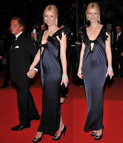Gwyneth Paltrow Cruises Chanel 2009 On The Cannes Red Carpet