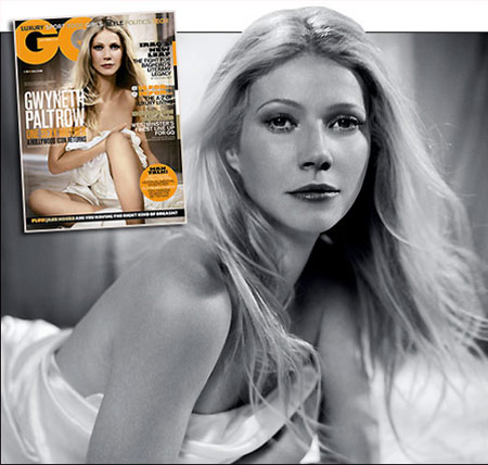 Gwyneth Paltrow Covers GQ In June 2008
