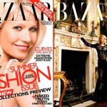 Gwyneth Paltrow Harper s Bazaar May 2010 covers