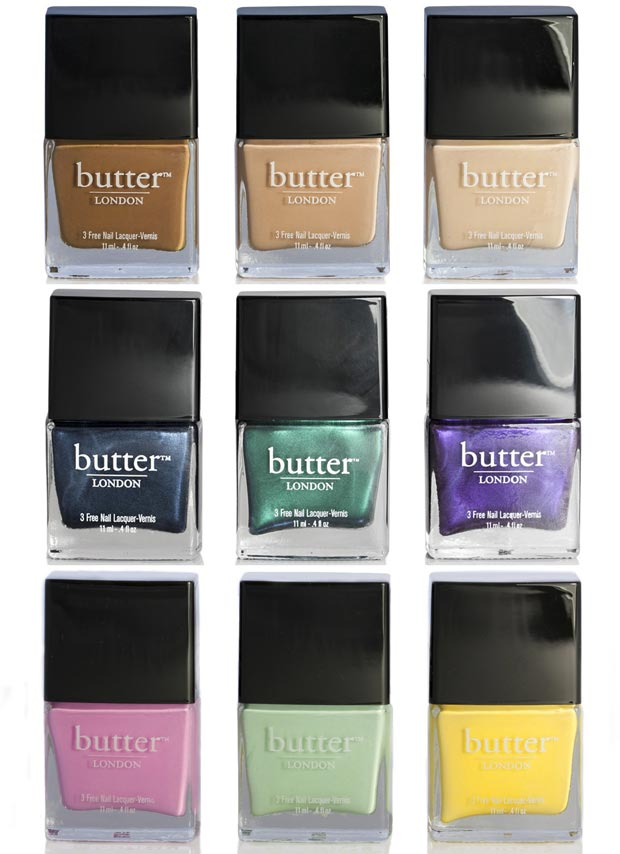 Gwyneth Paltrow nail polish selection Butter London