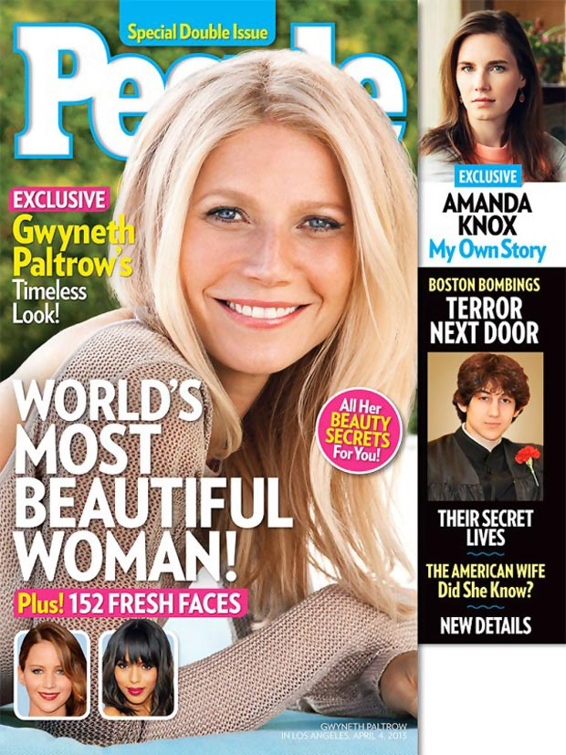 Gwyneth Paltrow named World s most beautiful woman
