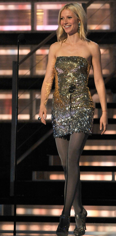 Gwyneth Paltrow Versace Grammy09 1