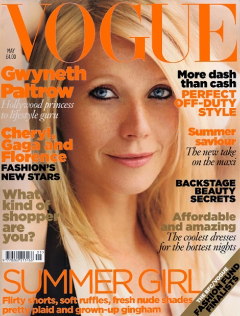 Gwyneth Paltrow Vogue UK May 2010 cover