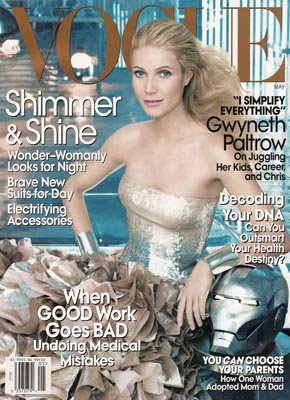 Gwyneth Paltrow Vogue US May 2008