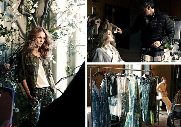 H M Conscious Collection 2013 Vanessa Paradis