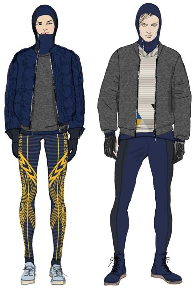 H M Swedish Olympic Team Uniforms