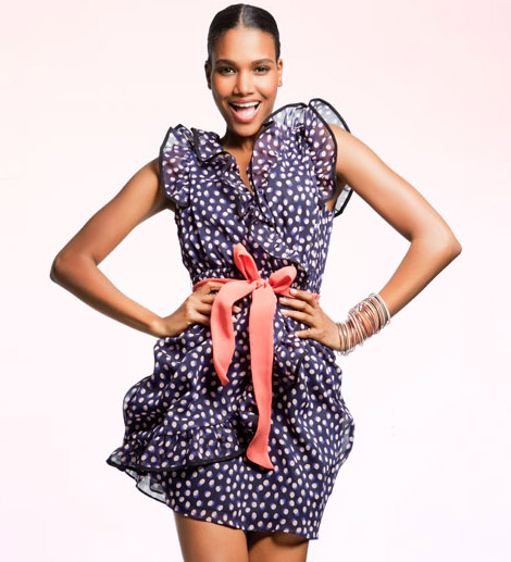 H M Sweet Intentions 2011 Summer Collection Arlenis Sosa