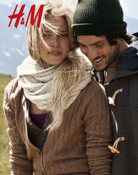 h m winter ad campaign